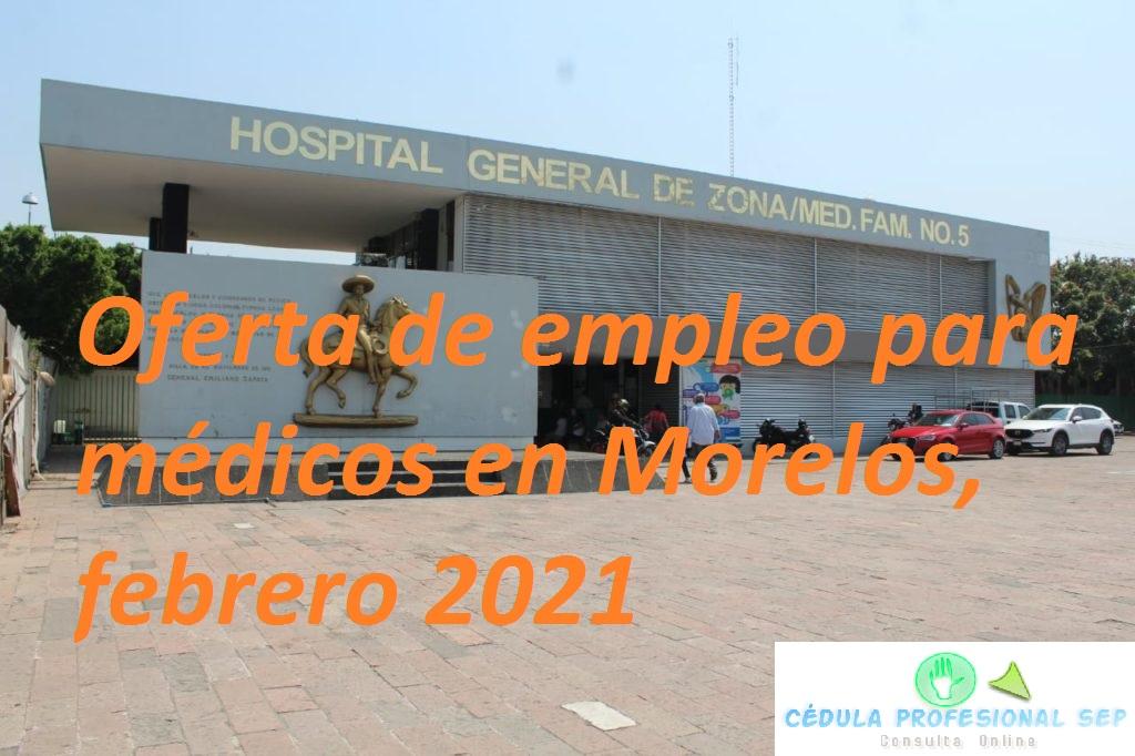 morelos-icontagios-coronavirus-oferta empleo medicos